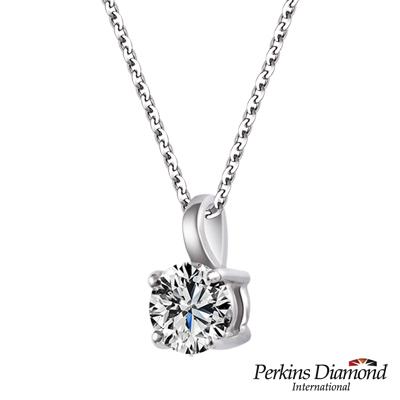 PERKINS 伯金仕 GIA 四爪經典系列 0.30克拉鑽石項鍊