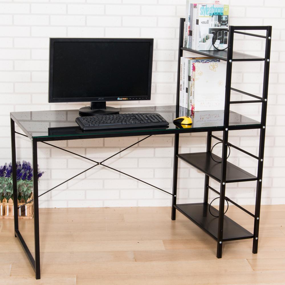 維多利亞多功能防爆加深雙向層架工作桌/電腦桌(寬120公分)(2色)