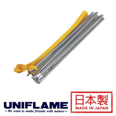 【日本 UNIFLAME】獨立式鋁合金三腳掛燈器│燈架 622049
