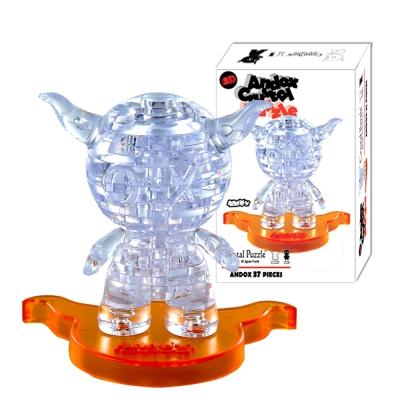 Andox安逗 3D Crystal Puzzles 立體水晶拼圖(8cm系列-36片)