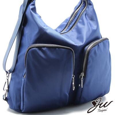 JW-後背包-約克里大口袋輕量尼龍三用包-共三色
