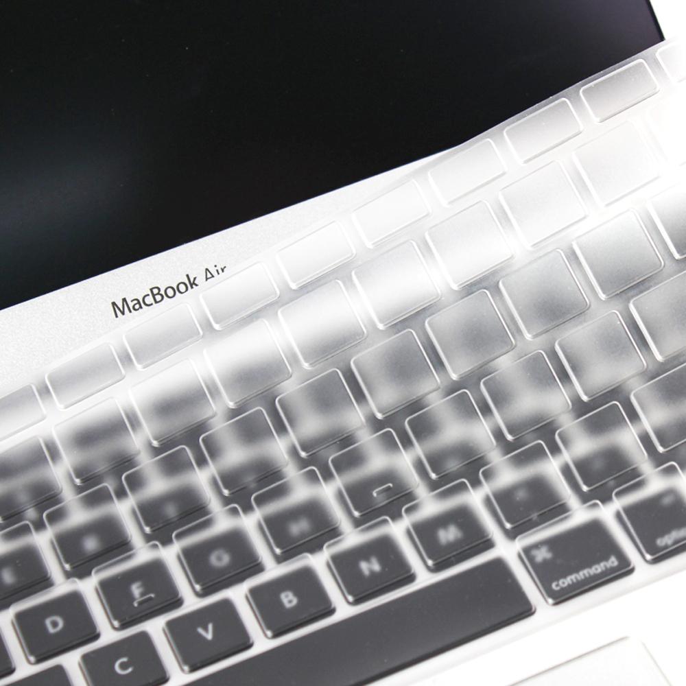 Apple macbook pro13,15,17吋/ Air 13吋矽膠透明鍵盤保護膜