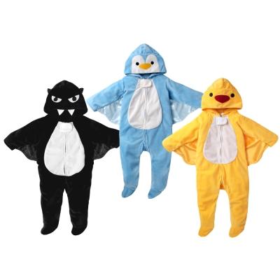 baby童衣 水晶絨動物造型連身衣 60148