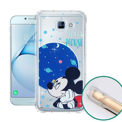 迪士尼正版 三星 Galaxy A8(2016) 空壓安全手機殼(米奇)