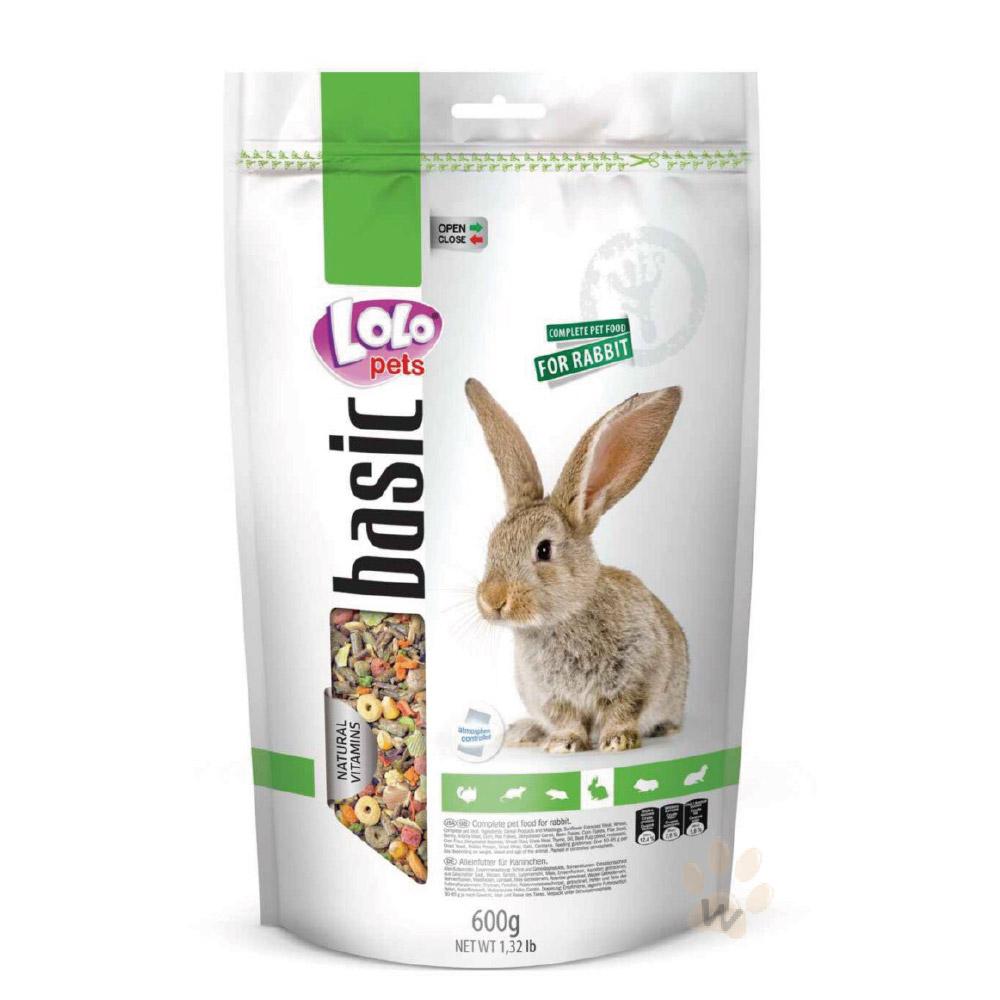 LoLo 營養滿分寵物兔主食600g