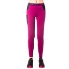【hilltop山頂鳥】女款ZISOFIT吸濕彈性內搭褲H31FK8紫紅