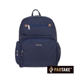 PARTAKE-B2都會休閒生活系列-後背包-藍-PT16-B2-82NY