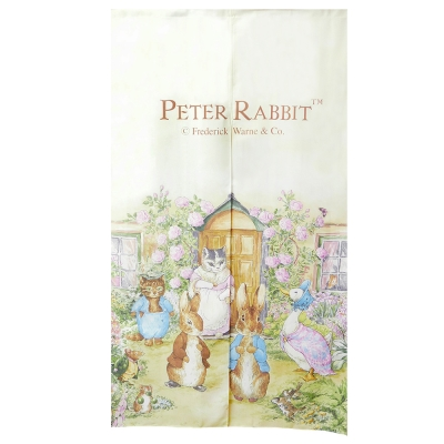 BEDDING 彼得兔家居系列 經典長門簾 世界