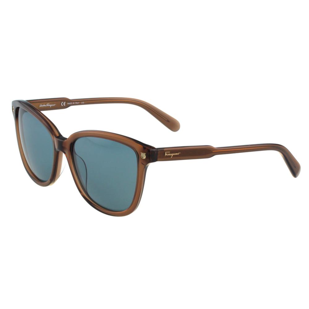 Salvatore Ferragamo- 時尚太陽眼鏡(茶色) @ Y!購物