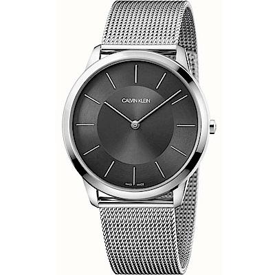 Calvin Klein Minimal系列極簡米蘭帶腕錶(K3M2T124)-43mm