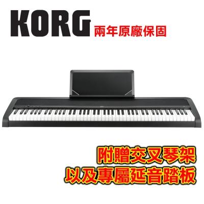 KORG B1 BK 88鍵數位電鋼琴 時尚黑色款