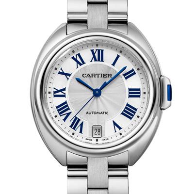 CARTIER卡地亞CLE DE CARTIER WSCL0006自動鍊帶腕錶-35mm