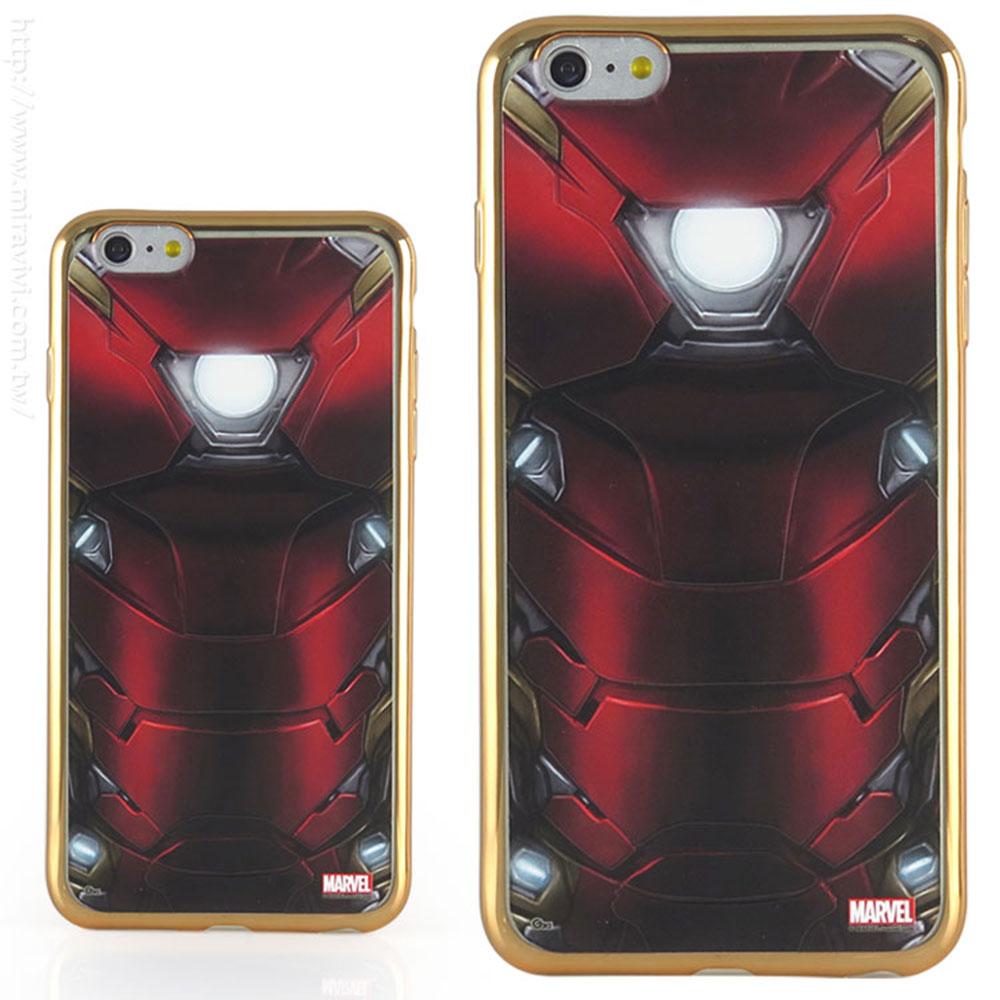 MARVEL iphone6 plus/6s plus復仇者聯盟電鍍保護軟套