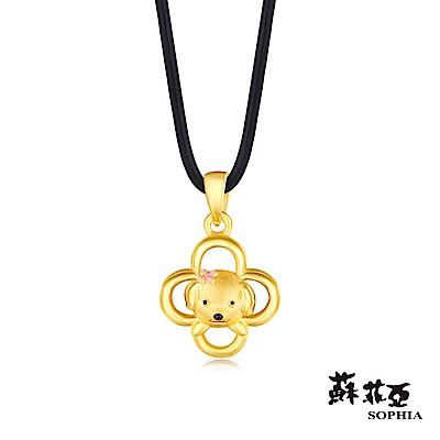 蘇菲亞SOPHIA - G LOVER系列狗來富黃金項鍊