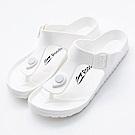 Roadpacer-男女休閒拖鞋BS021WHT-白