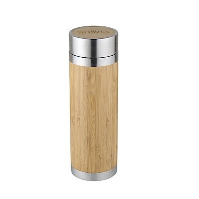 FUSHIMA富島 品竹泡茶保冷保溫隨手瓶300ML