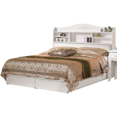 CASA卡莎-安朵5尺被櫥式雙人床-不含床墊