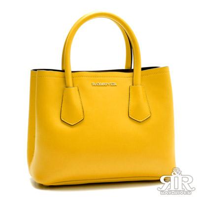 好康-2R-十字紋防刮牛皮Beauty-Bag-甜
