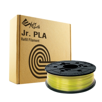 XYZ Printing 3D列印PLA耗材FOR Junior(黃色/Yellow)