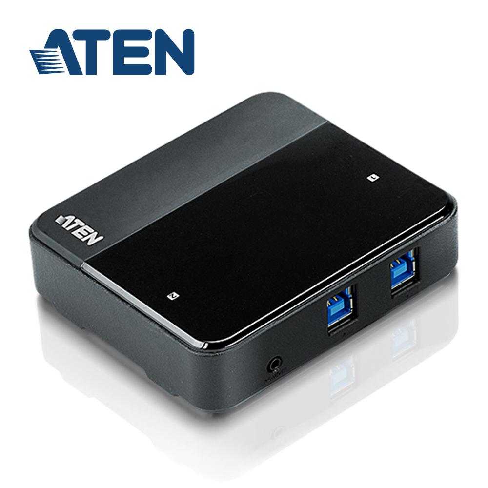 ATEN 2埠 USB 3.0 周邊分享裝置 (US234)