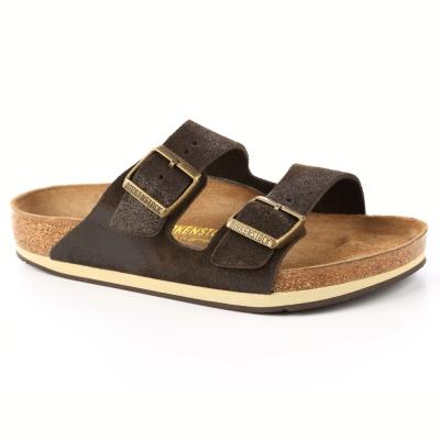 勃肯BIRKENSTOCK1000594。亞利桑那經典二條拖鞋(復古咖)