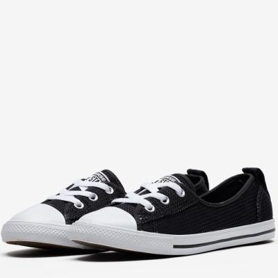 CONVERSE-女休閒鞋555894C-黑