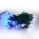 聖誕燈LED燈50燈雪花造型燈(藍白光/綠線)(省電高亮度)(附IC控制器跳機) product thumbnail 1