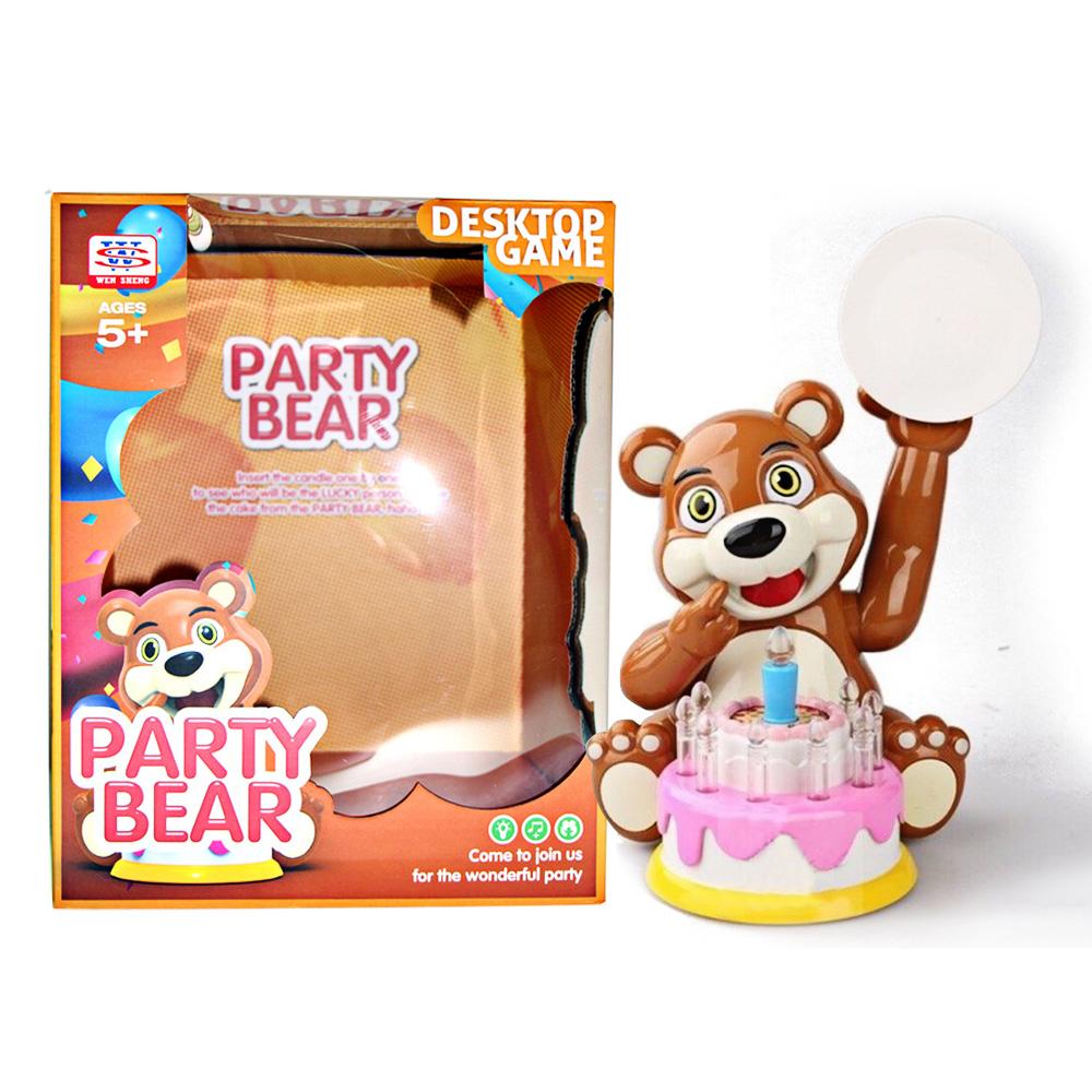 凡太奇 趣味桌遊 蛋糕熊生日聚會/扔蛋糕/打臉/惡搞