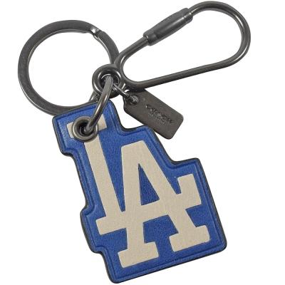 COACH MLB聯名系列洛杉磯道奇隊鑰匙圈