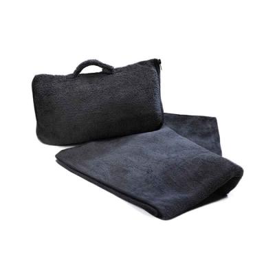 CABEAU 保暖飛機毯-黑色