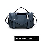 RABEANCO Modern現代美學系列雙飾帶包(小) 墨水藍