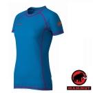 【MAMMUT 長毛象】女 Jungfrau 極限短袖圓領排汗衣_亮藍
