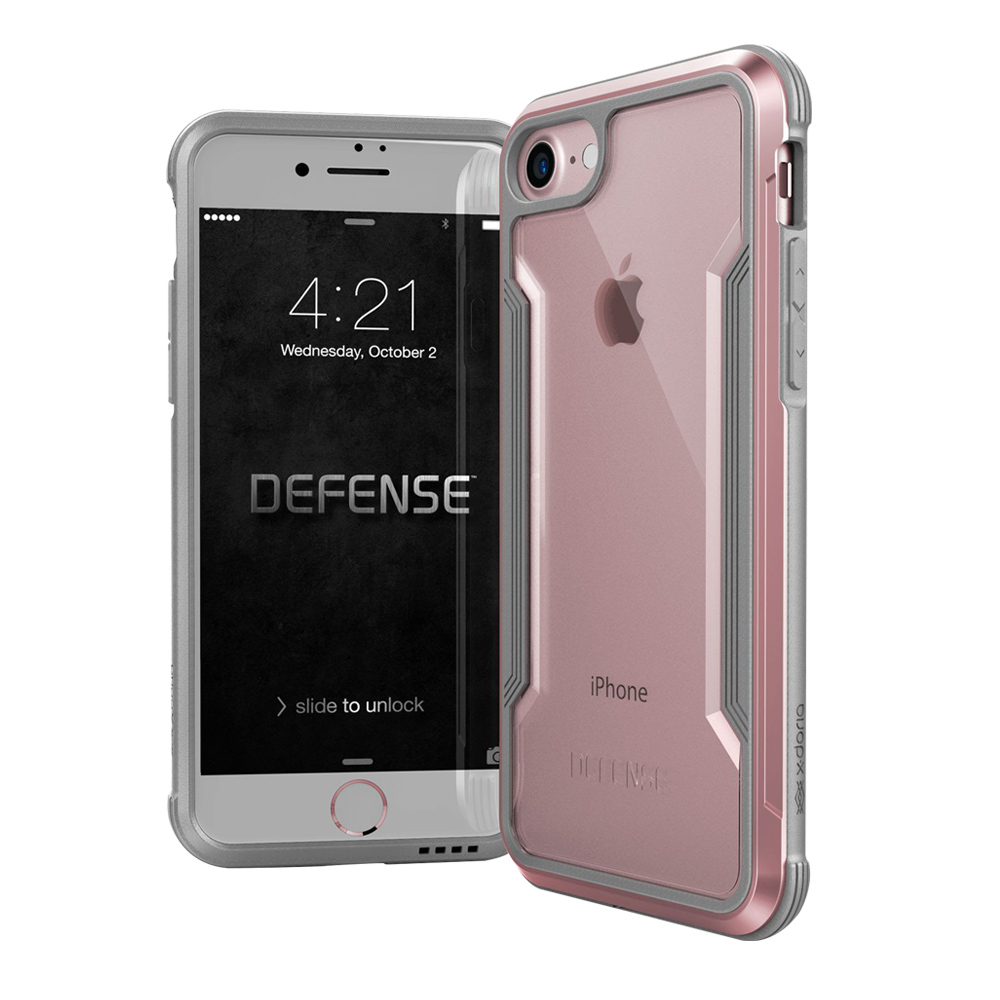 DEFENSE刀鋒極盾II iPhone 8 iPhone 7耐撞擊手機殼玫瑰金