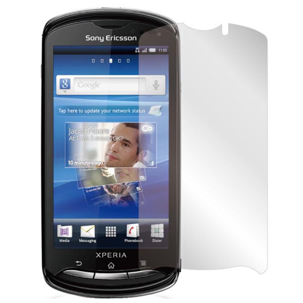 ZIYA SonyEricsson XPERIA pro MK16i 抗刮螢幕保護貼2入