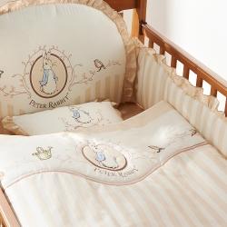 奇哥 優雅比得兔六件床組-L