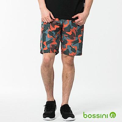 bossini男裝-休閒海灘快乾褲01灰