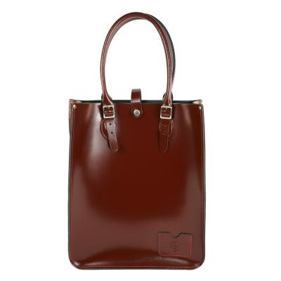 The Leather Satchel 英國手工牛皮托特包 手提 肩背包 浪漫紅