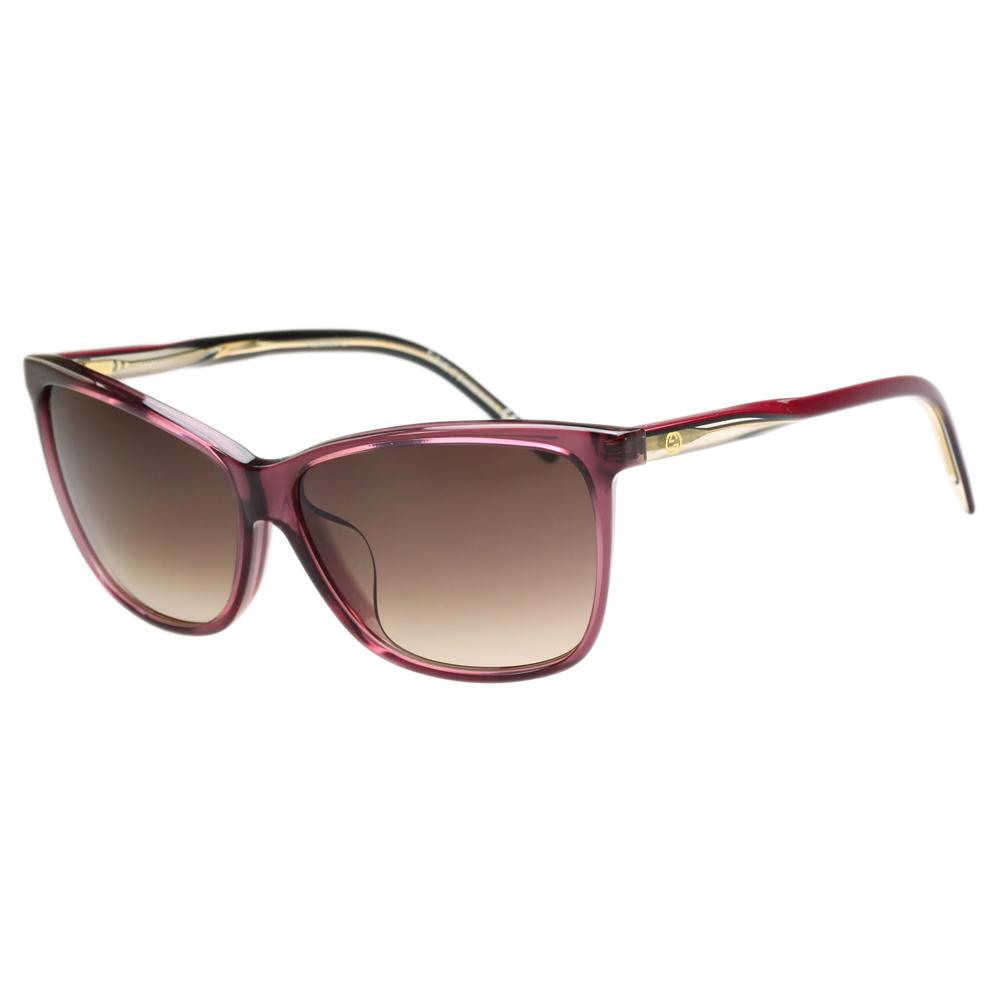 GUCCI 時尚太陽眼鏡(粉色)