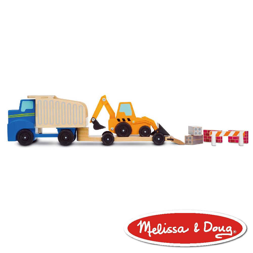 美國瑪莉莎 Melissa & Doug 交通 - 傾卸裝載拖車