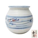 日本長谷園伊賀燒 陶罐(兔紋款)