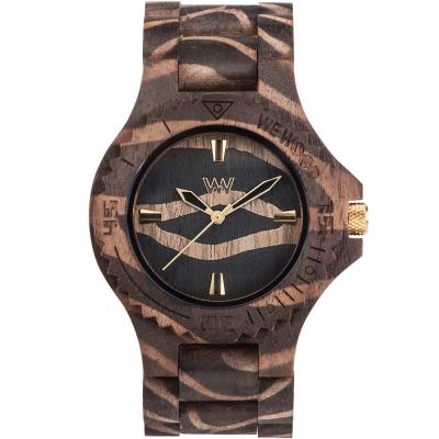 WEWOOD 義大利木頭錶設計款 DATE NATURE ZEBRA NUT-45mm
