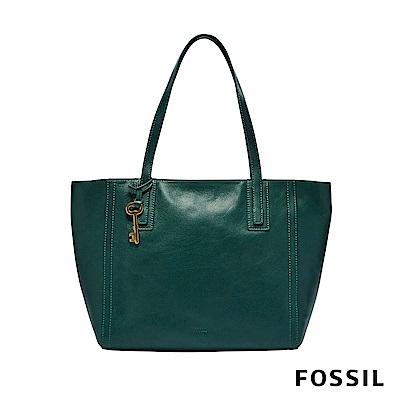 FOSSIL EMMA 托特包-湖水綠