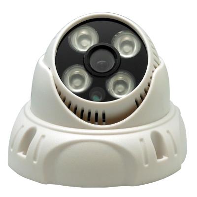 【CHICHIAU】AHD 720P 4陣列燈1000條雙模切換百萬半球型夜視攝影機