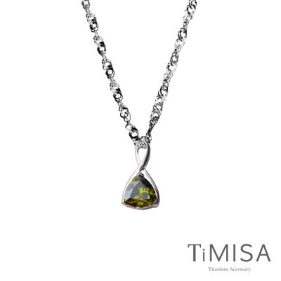 TiMISA《無限的愛》(三色可選)純鈦項鍊(10E)