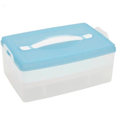 月陽MB大容量24入雞蛋蛋糕點心保鮮盒(顏色隨機出貨)