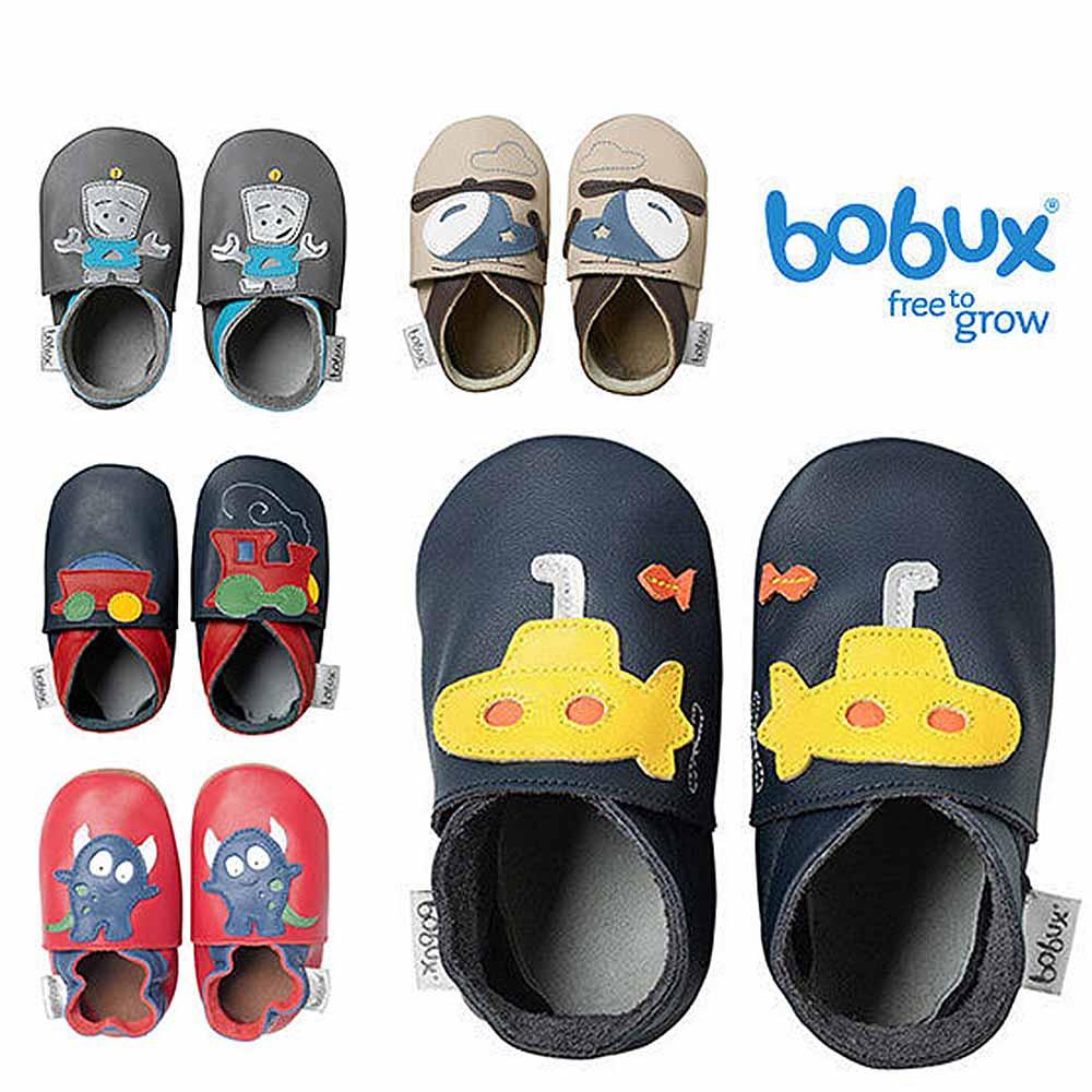 Bobux 紐西蘭 Soft Sole童鞋學步鞋 交通系列