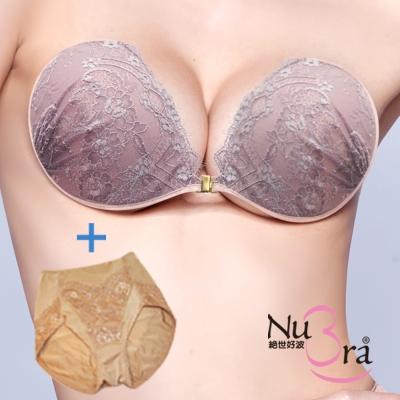 NuBra-隱形胸罩-粉藕花蕾-褲