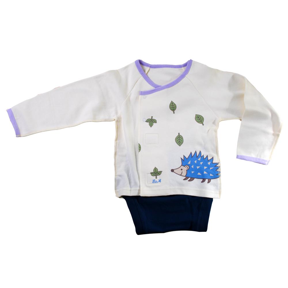 魔法Baby~厚款寶寶內著肚衣型包屁衣~k01856