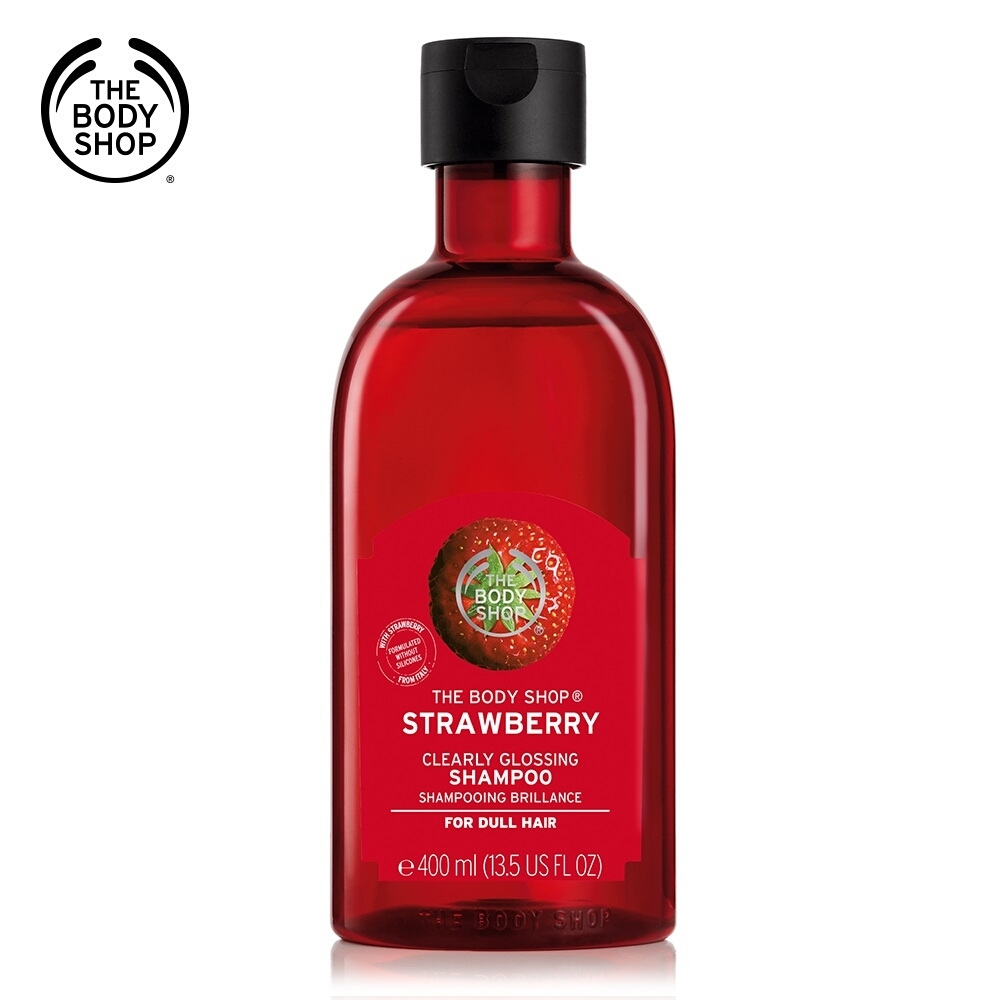The Body Shop 草莓亮采洗髮精400ML product image 1