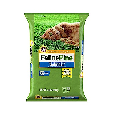 Felinepine斑比松木砂40lb